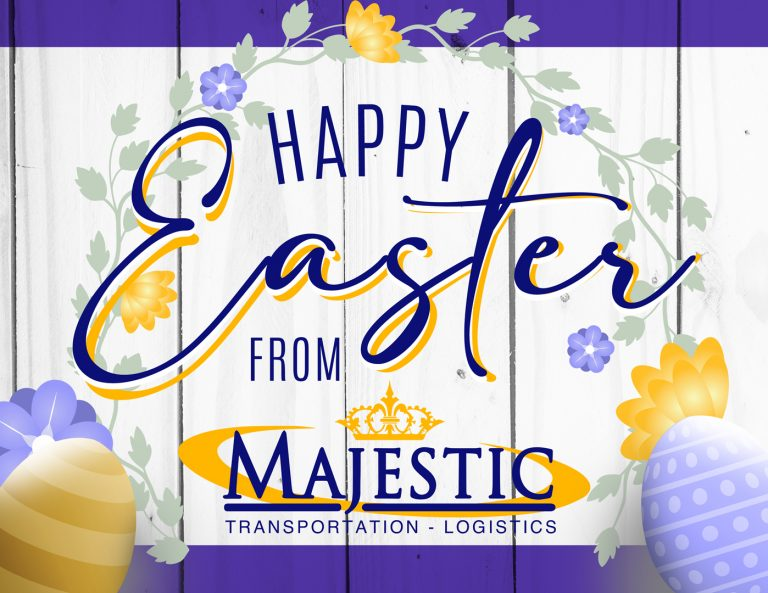 Happy Easter from Majestic Transportation!